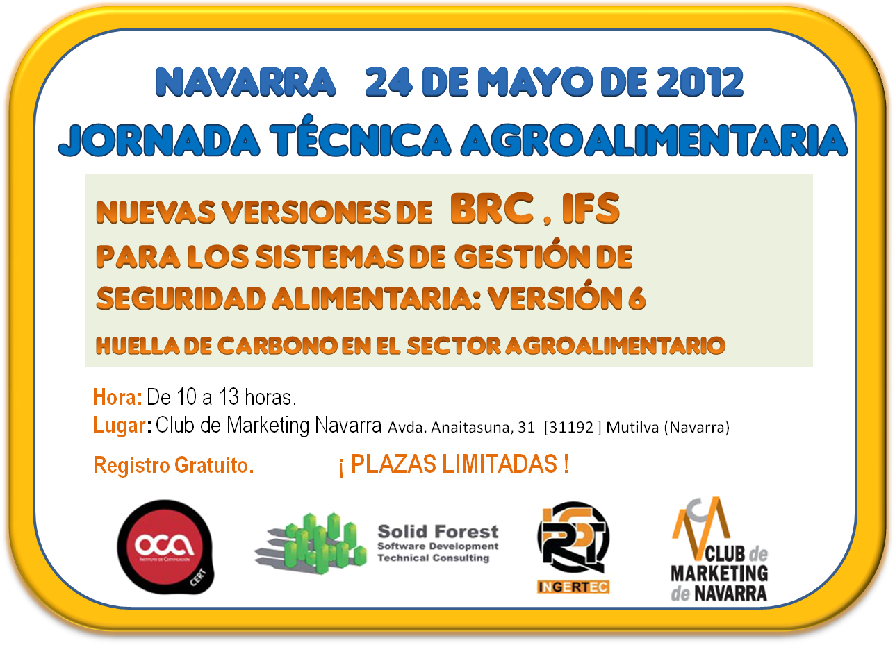 Jornadas Agroalimentaria BRC e IFS Navarra