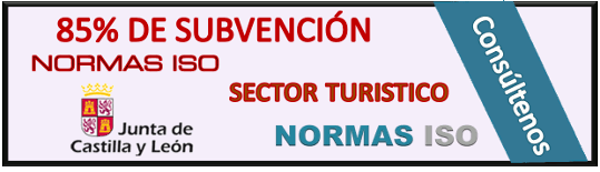 Subvenciones 85% Sector Turístico CYL