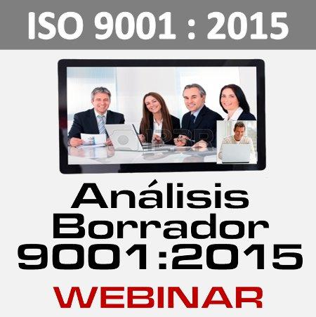 Webinar ISO 9001 2015